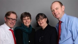 Mike Wolfe, Helen, Sian Griffiths and Duncan Battman
